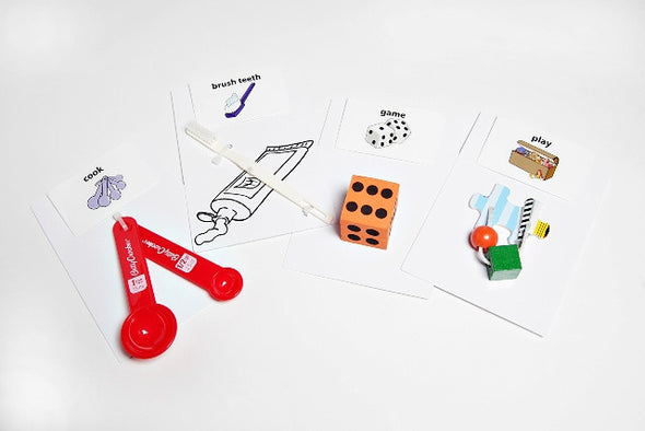 Tangible Object Cards 30 Set with Sound Tags