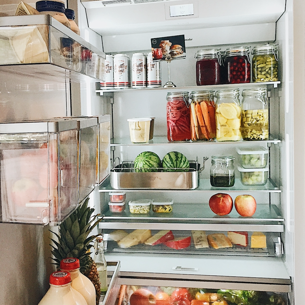 Thermadore: 7 Steps to Organize Your Fridge with Blisshaus