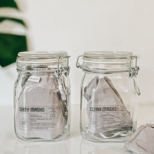 Face Masks Jars
