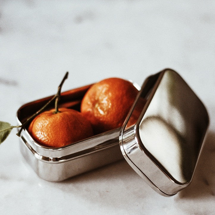Snack Tins - Rectangle Small (Set of 2) - Back in stock!