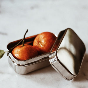 Snack Tins - Rectangle Small (Set of 2)