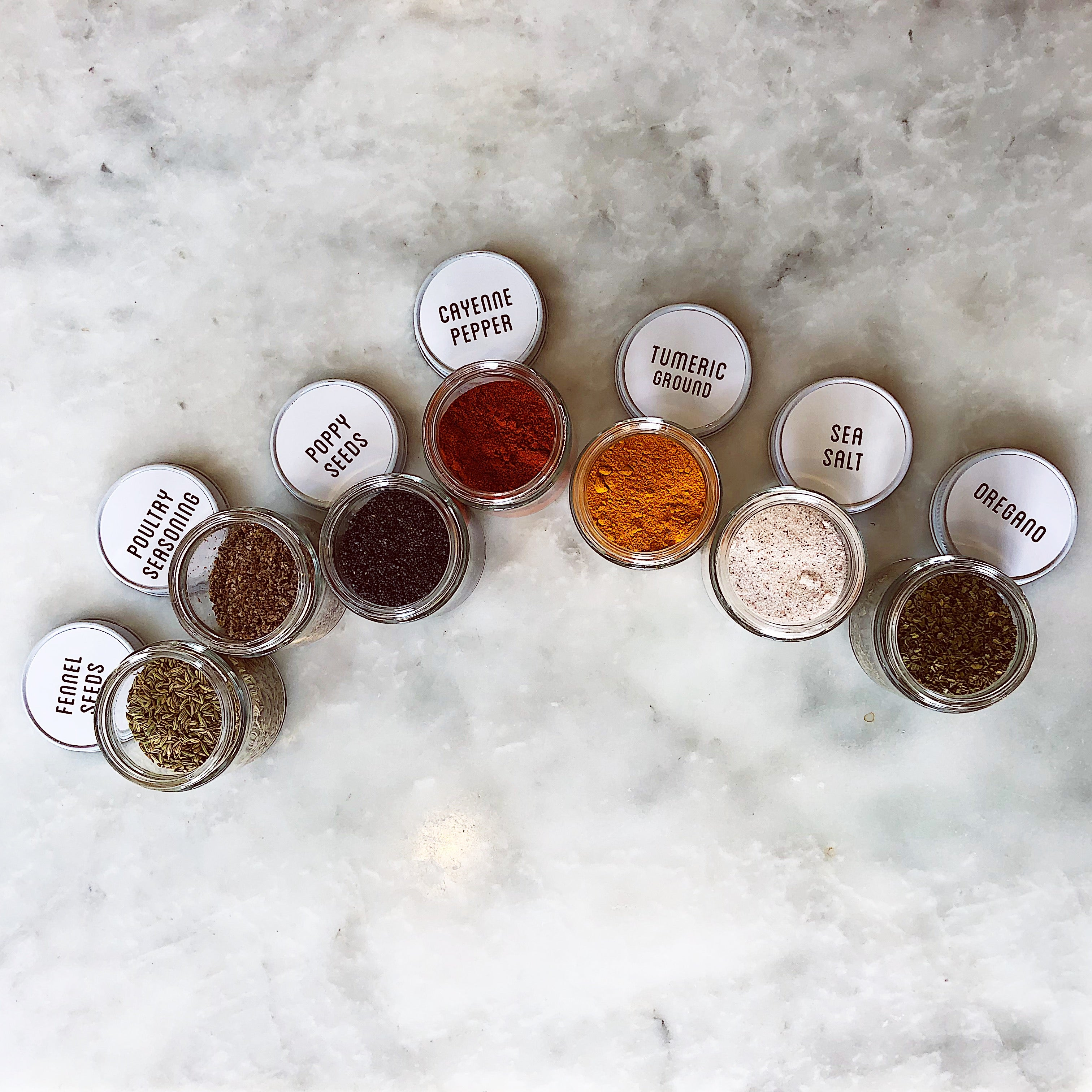 The Spices Kit - Sets of 16