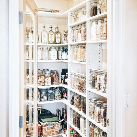 Blisshaus Pantry Cabinet Makeover