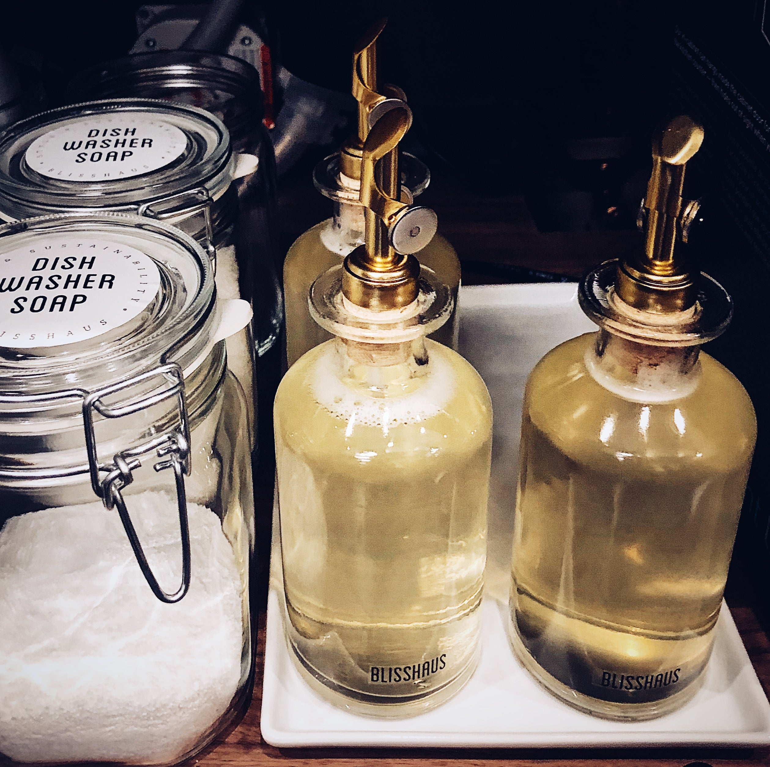 Soap Bottle Set