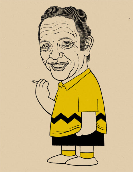 """It's supposed to be Don Knotts."""