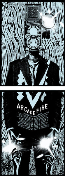 ARCADE FIRE TOUR 1: BLUE