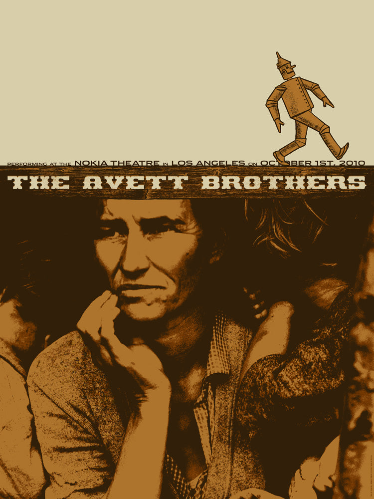 The Avett Brothers LA 2010