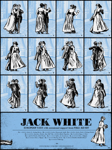 Jack White European Tour 2012