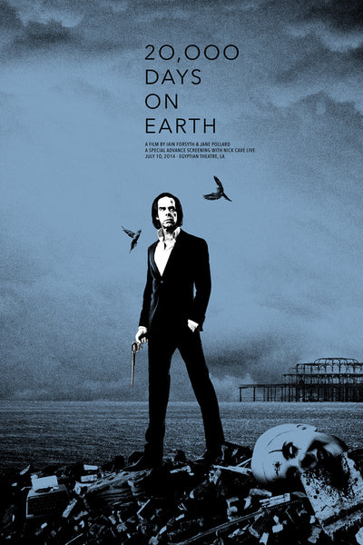NICK CAVE: 20K DAYS (BLUE)