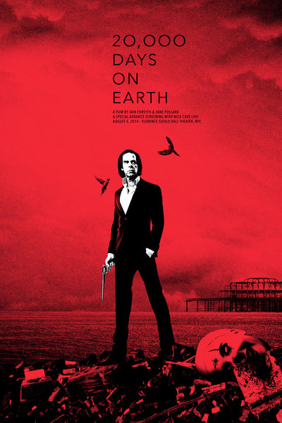 NICK CAVE: 20K DAYS (RED)
