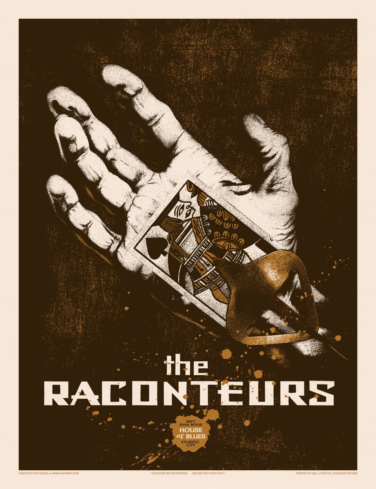 The Raconteurs Atlantic City 2006