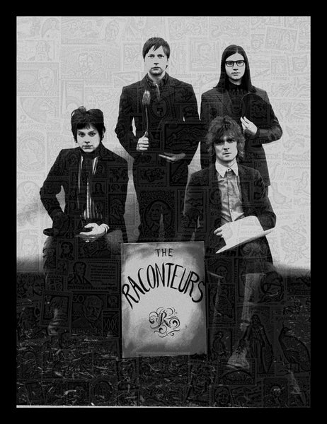 The Raconteurs Consolers of Lonely Poster 2008