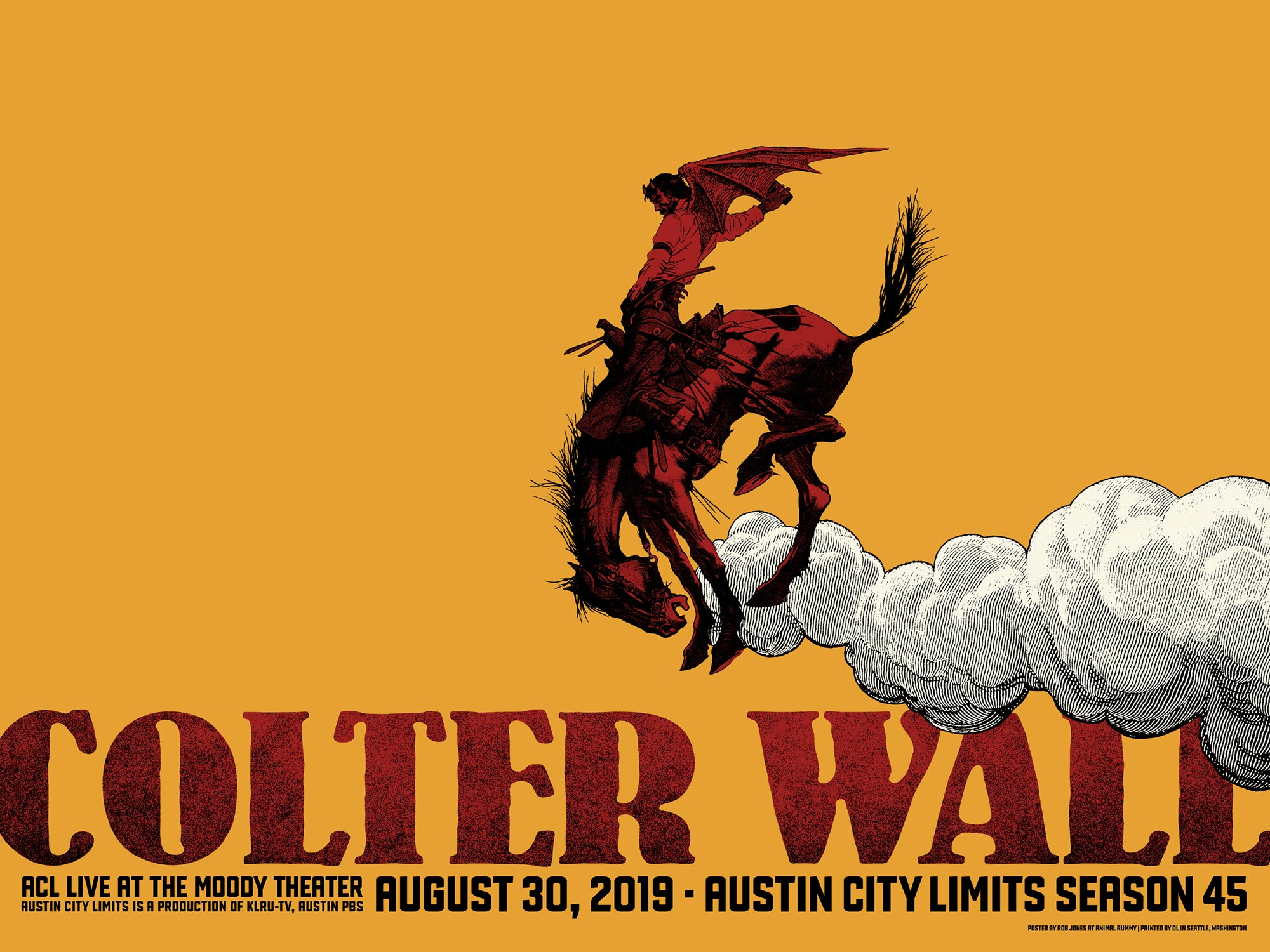 Colter Wall Austin City Limits Taping 2019