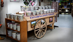 the Taylor's Candy Wagon in our farm market