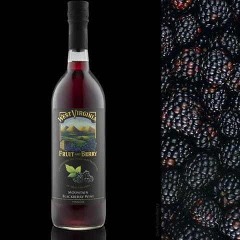 Mountain Blackberry Wine