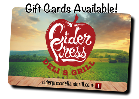 Cider Press Deli & Grill Gift Card