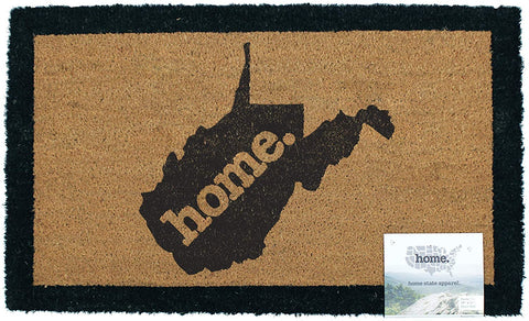 West Virginia home. Coir Door Mat