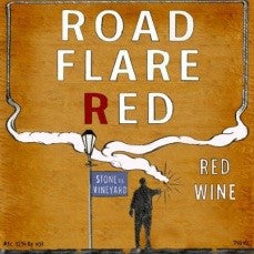 Road Flare Red