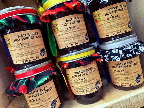 Sister Sue's Hot Pepper Jelly