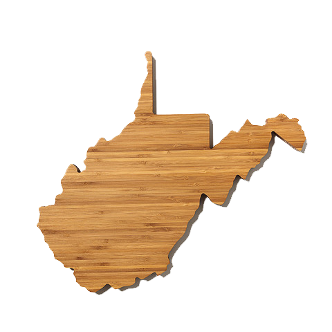 West Virginia Cutting Board