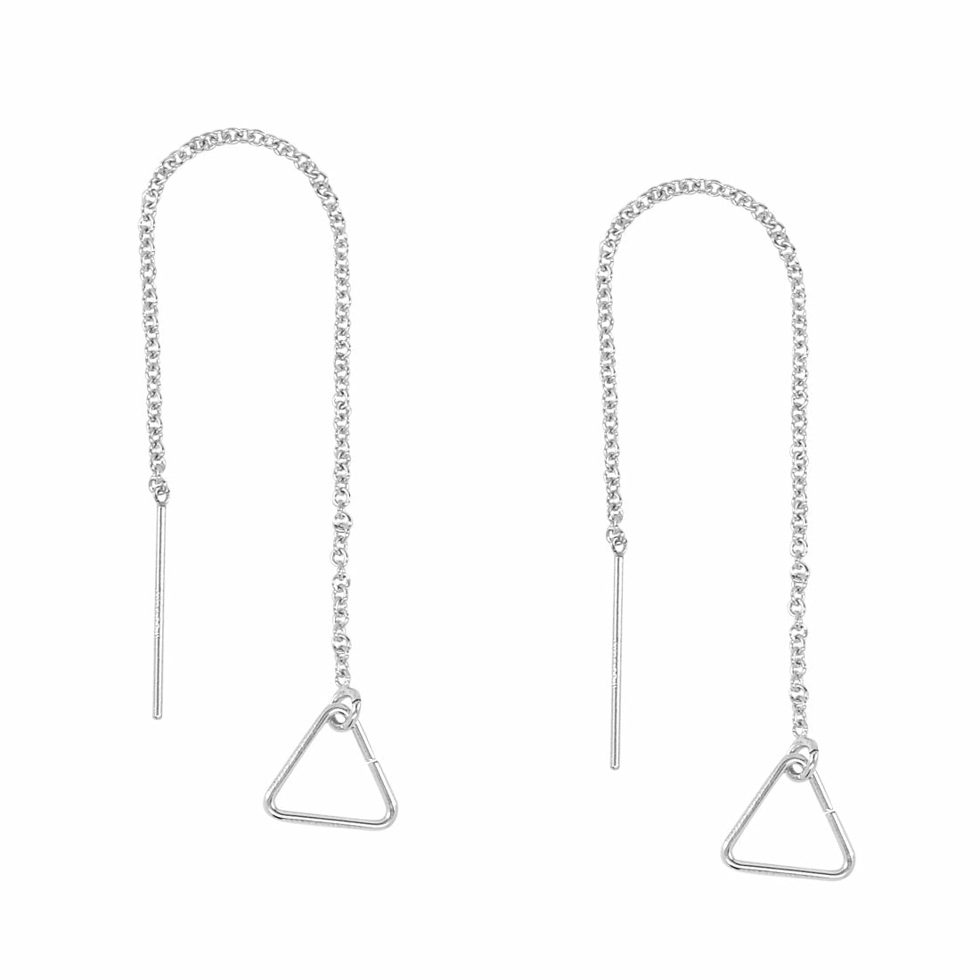 Geometric Ear Threaders