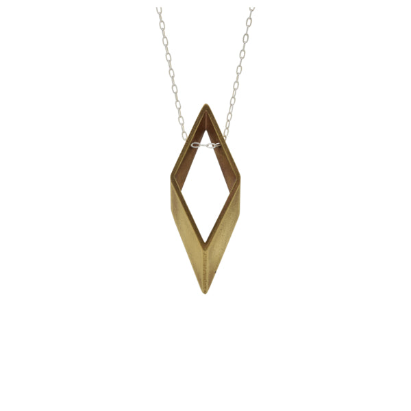 Cubist Diamond Necklace