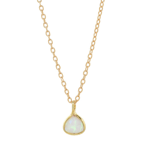 Triangle Opalite Necklace