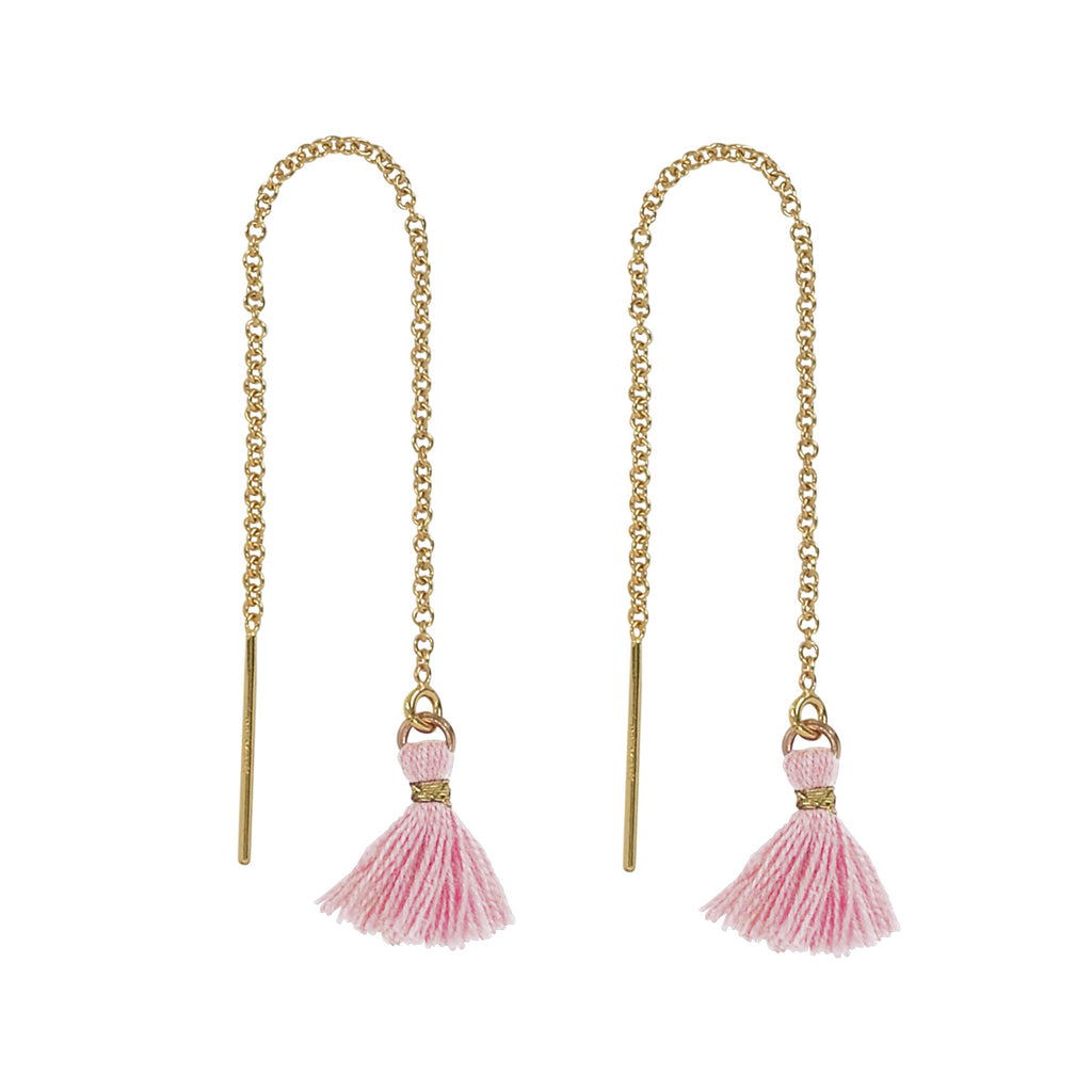Tassel Ear Threaders (more colors)