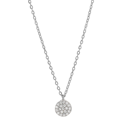 Round Multi CZ Necklace