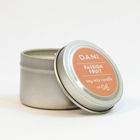 DANI Naturals Travel Size Candles