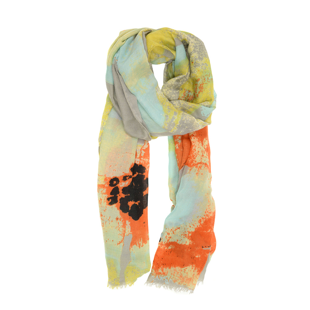 Bright Multi Abstract Scarf