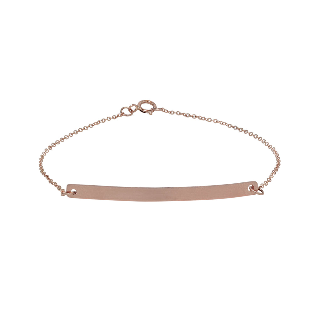 Long Thin Bar Bracelet