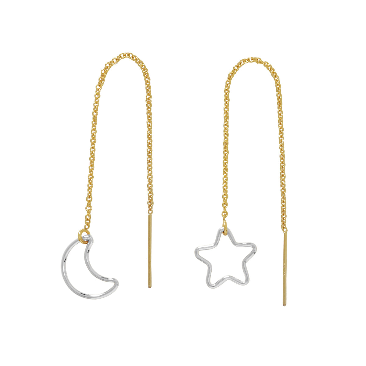 Star / Moon Ear Threaders