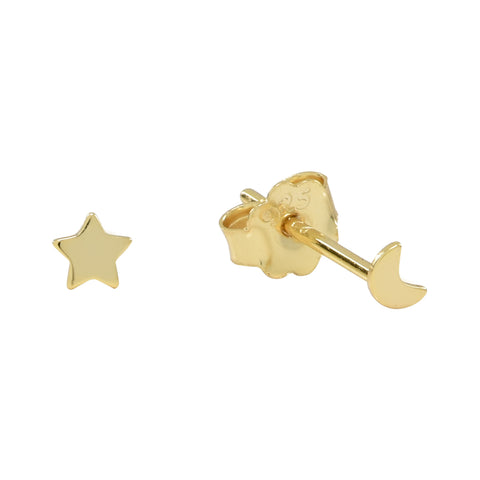 Curved Graduated Stars Ear Crawler