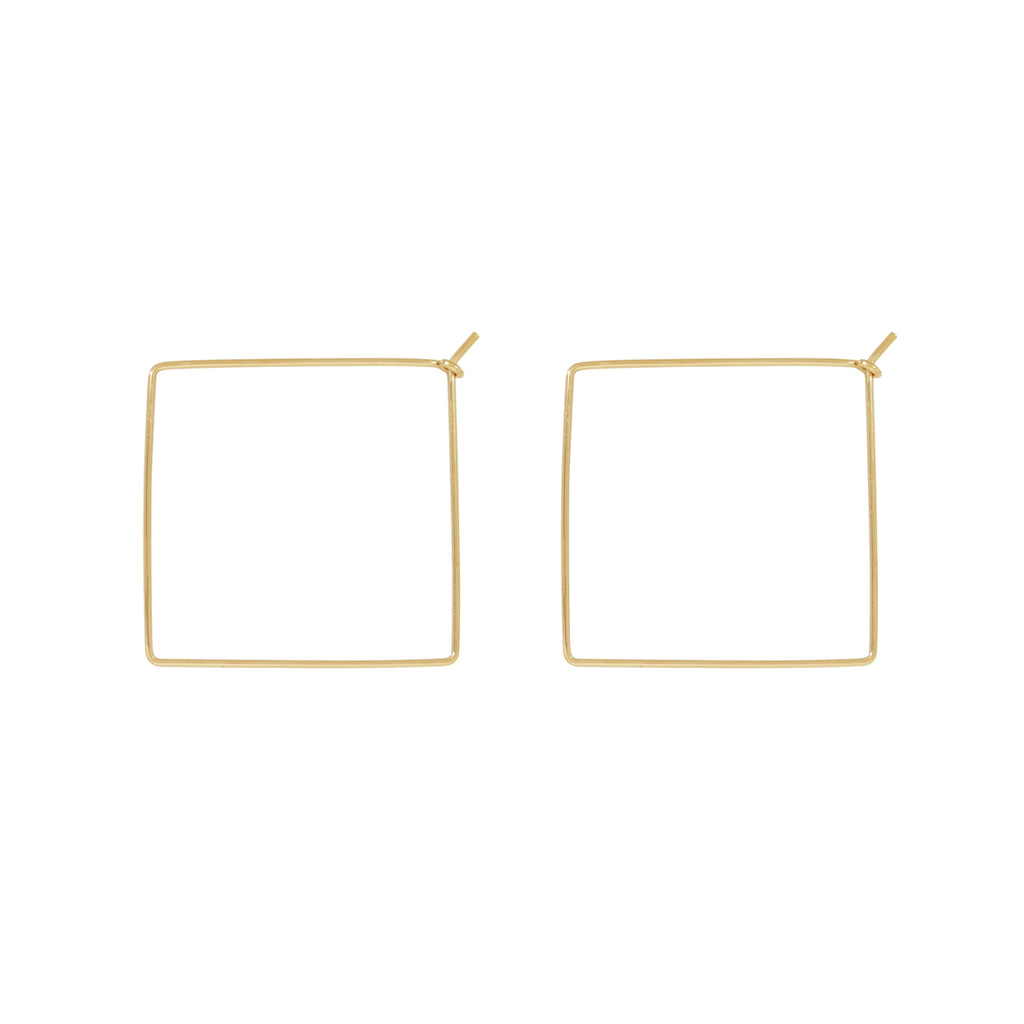 Infinity Square Hoops