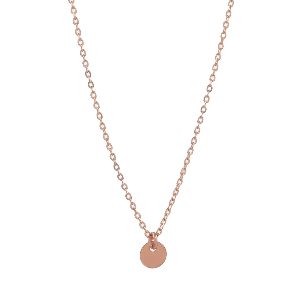 Single Disc Necklace