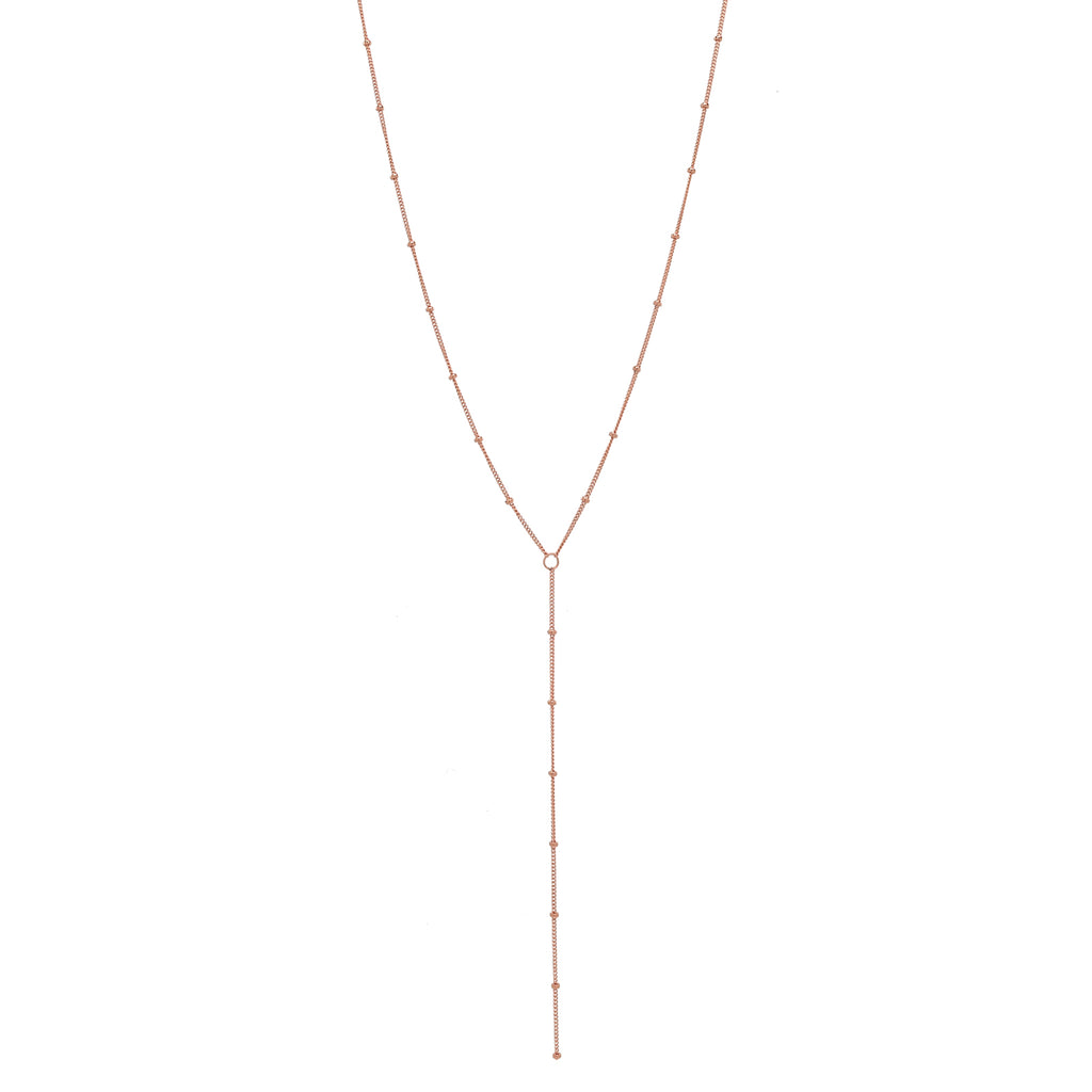SALE - Y-Drop Ball Chain Necklace