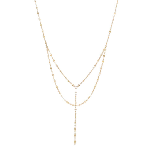 Double Layer GL-Y Necklace