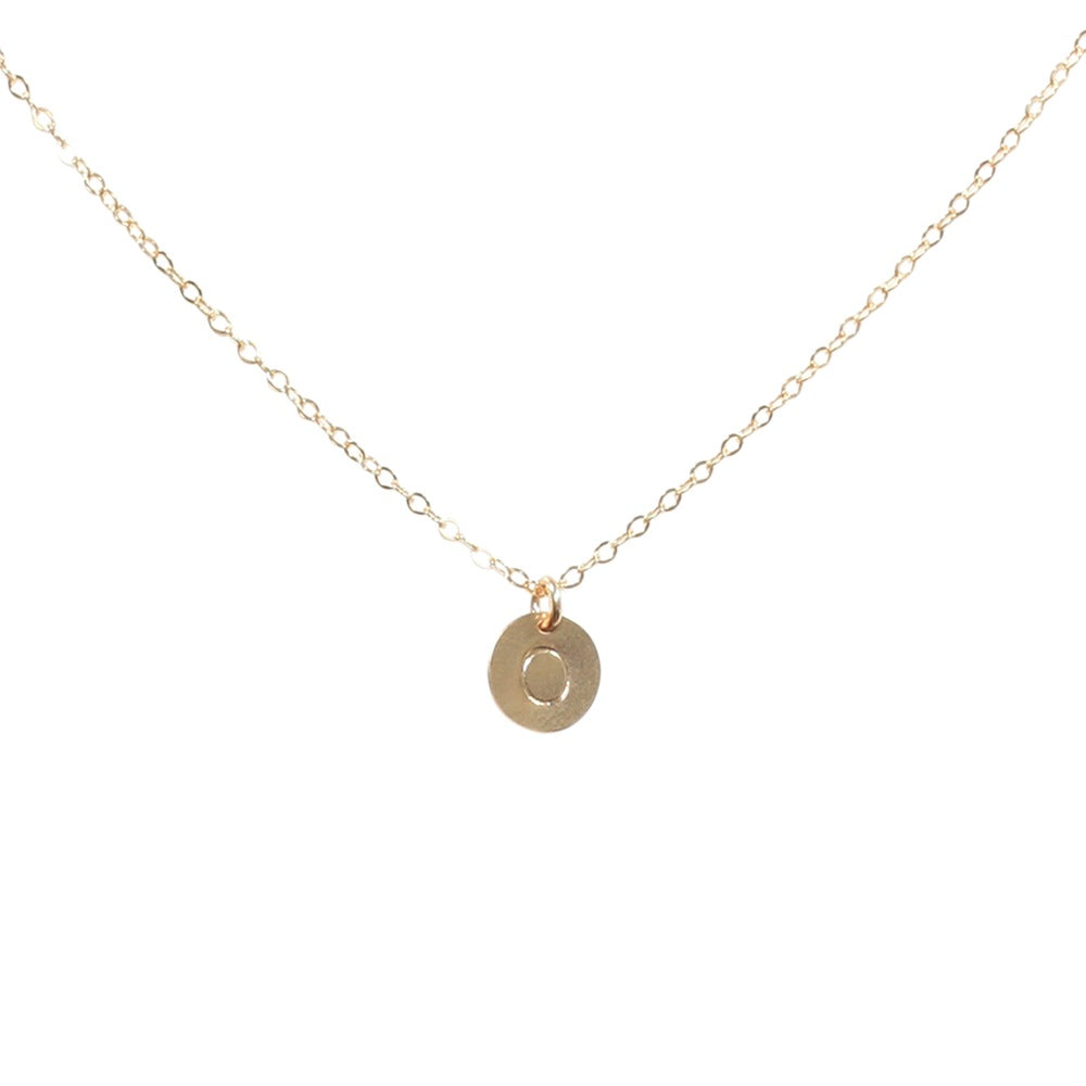 Monogram Necklace on Regular Chain