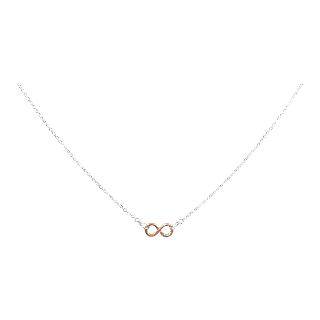 Tiny Infinity Necklace on Thin Chain