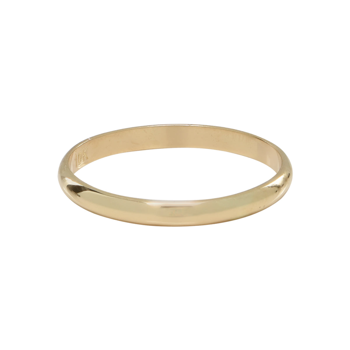 10k Solid Gold Band