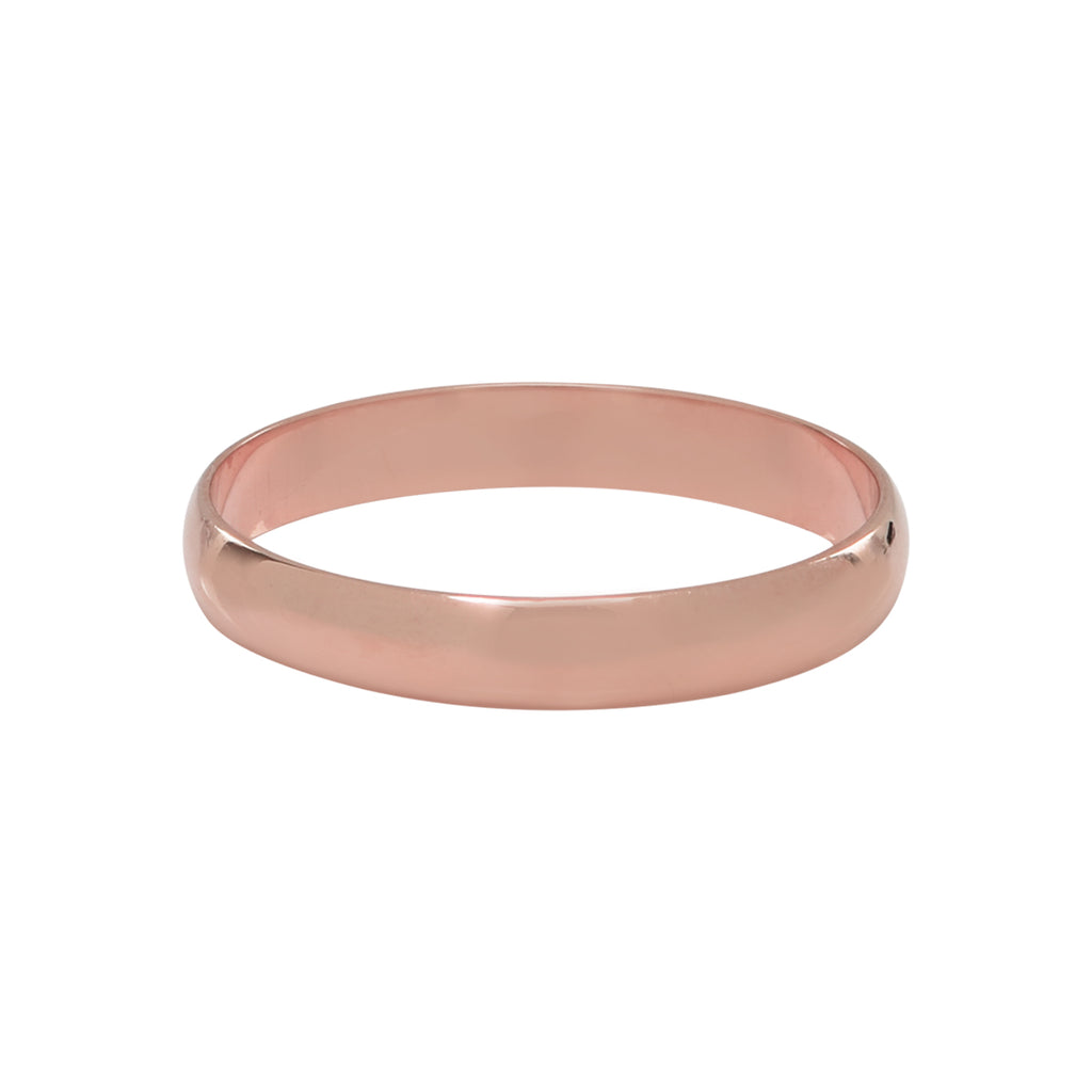 10k Solid Gold Thick Band