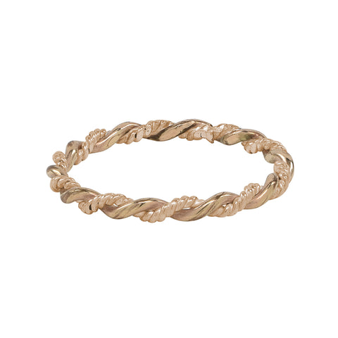 Twisted Plain Ring