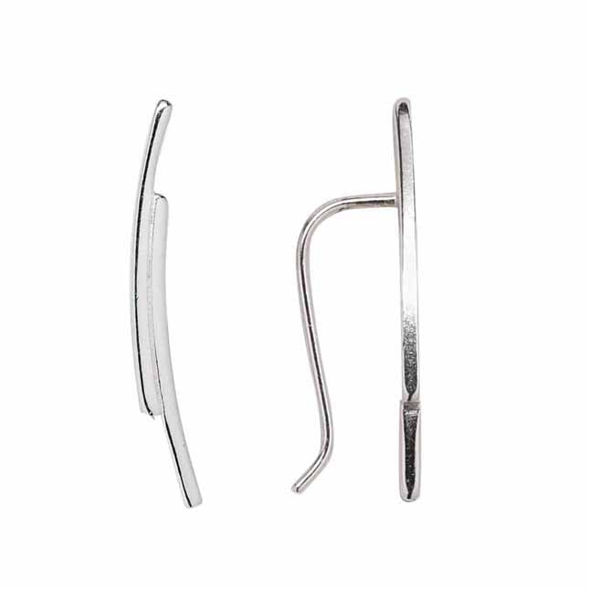 SALE -  24mm Double Curved Ear Crawler