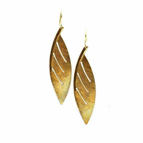 Canyon Oak Earring