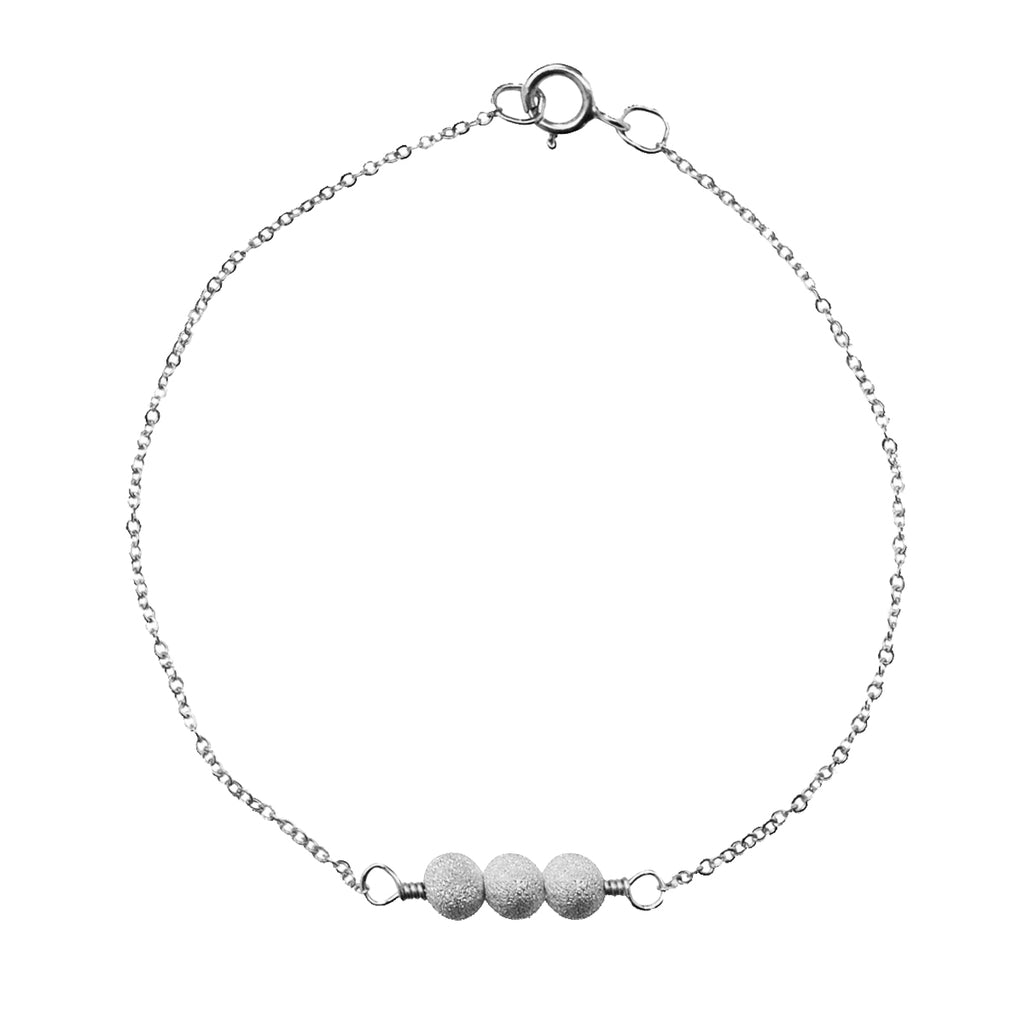 Triple Stardust Ball Bracelet