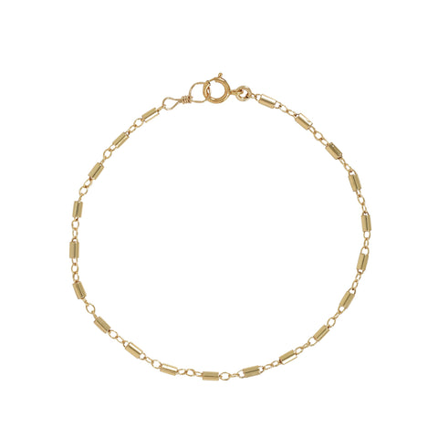 Round Multi-Bar Anklet