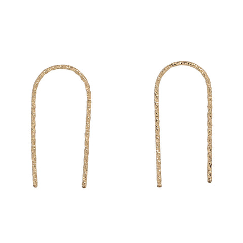 Curved Fringe Earrings
