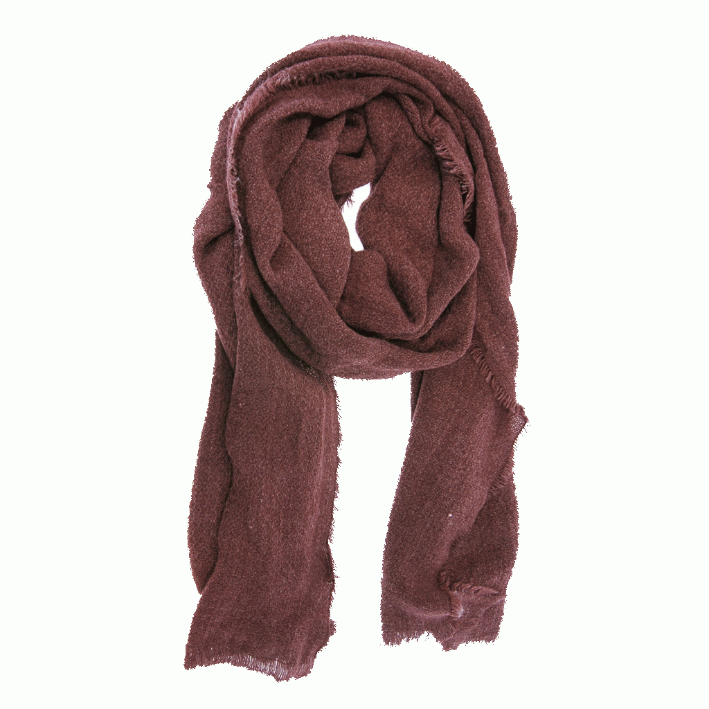 Heathered Eyelash Fringe Scarf (more colors)