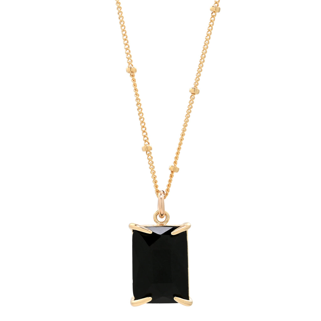 Black Emerald Necklace